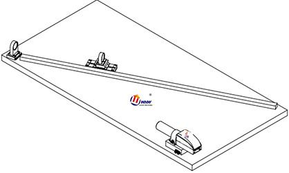 研润自准直仪平面度测量