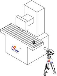 研润自准直仪直线度测量